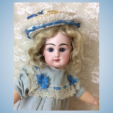 """Petite Rabery et Delphieu Bebe 16"""" French Bisque Doll"""