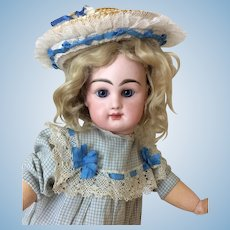 "Petite Rabery et Delphieu Bebe 16"" French Bisque Doll"