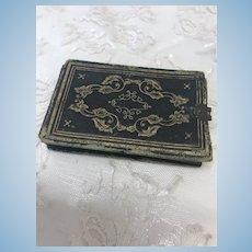 """Miniature 1 -1/2 x 3"""" Antique Photo Album"""