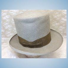 Vintage Felt Men's Top Hat