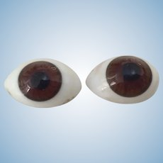Antique Paperweight Eyes 10 mm