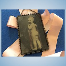 Early Bare Baby Photo For Baby Doll Display