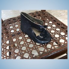 MB Paris French Shoe Single For Antique Doll
