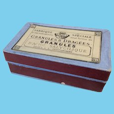 Early Small French Box For Trinkets Fashion or Bebe