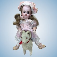Small Antique Ram For Doll Display