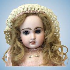 Small Crochet Bonnet For Antique Doll