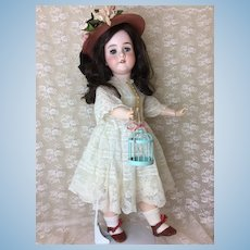 "Blue Eyed Beauty Kley & Hanh 26"" 250 Antique Doll"