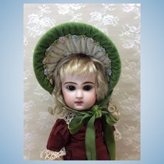 Artist Made Spring Bonnet For Small Doll