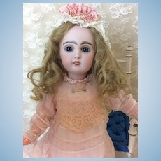"17"" Bebe Jumeau in Antique Dress"