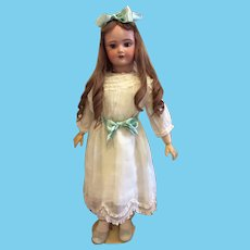 """34"""" French Bebe Unis France 301 in Antique Clothing"""
