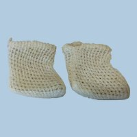 Small Size Antique Bebe Socks