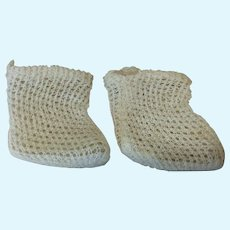 Small Size Antique Bebe Socks