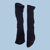 Replacement Black Fashion Doll Socks