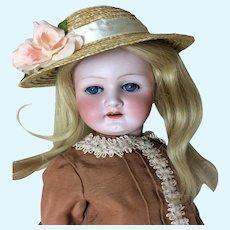 "23"" Heubach Kopplesdorf Antique Bisque Doll"