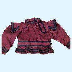 Bebe Bodice Jacket Seamstress Made