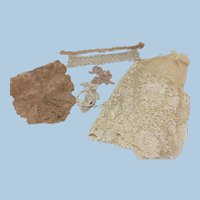 Antique Lace Doll Clothing or Other Sewing Projects
