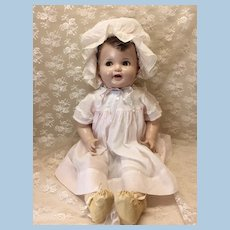 "Rare 27"" Flirty Eye Ideal Cuddles Composition Baby Doll"