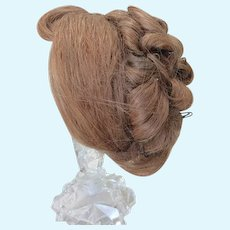 Antique Elaborate  Updo Wig For Fashion or Lady Doll