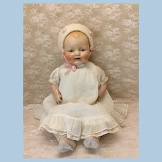 "21"" Tin Eye Horsman Baby Doll Baby Dimples"