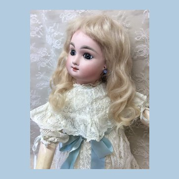 Fabulous Smiling Bebe Mascotte Original Straight Wrist Body French Bisque Doll