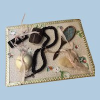 Original Antique Doll Accessory Card