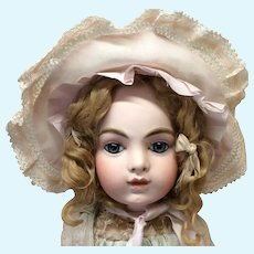 Large Early Ruffled Bonnet for Doll
