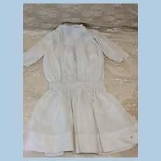Antique Dropped Waist Dress for Doll