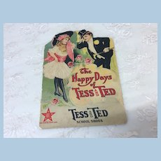 Antique 1910 Book The Happy Days Of Tess and Ted