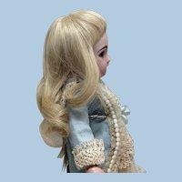 "Beautiful 7"" French Human Hair Wig"