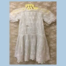 TLC Antique Lace Dress Doll Or Sewing