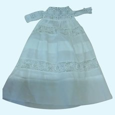Small Doll Antique Lace Gown