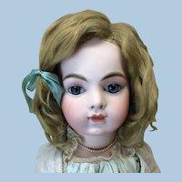 """15"""" Antique Mohair Wig Dark Blonde"""