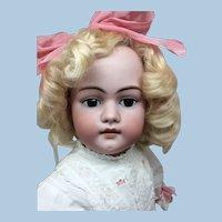 "28"" Simon Halbig Dep Antique Dress & Wig"