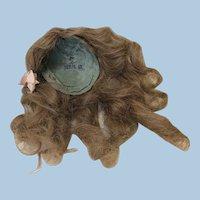 Original Sz 7 Antique Jumeau Wig Serie IX