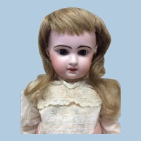 """10 1/2"""" Antique Human Hair Wig For Doll"""