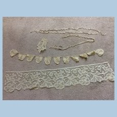 Antique Lace for Doll Sewing or Other Sewing Project