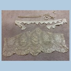 Antique Lace for Doll Sewing or Other Sewing Projects