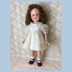 """Vintage 21"""" Effanbee Ann Shirley Doll"""