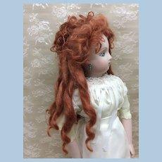 "Beautiful 9"" Mohair Fashion Doll Wig"