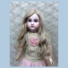 Sz 14 Fabulous Extra Long Blonde Human Hair Wig