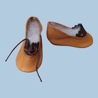 "2 1/4"" Leather Doll Shoes Replacements"