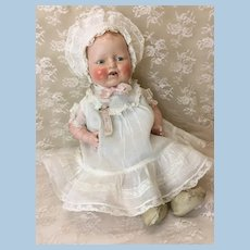 "17"" Baby Dimples in AMAZING Original Outfit Horsman"