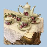 Especially Pretty Rose Tea Set For Dolls
