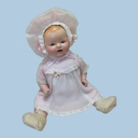 """Baby Chuckles 16"""" Composition Baby Century Dolls"""