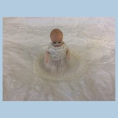 All Bisque Jointed Baby Vintage