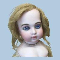 "10"" Antique Blonde Human Hair Wig TLC"