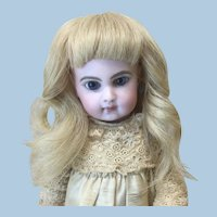 """6 1/2"""" Blonde Replacement French Human Hair Wig"""