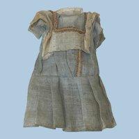 "Tiny 5"" Original Antique Dress Mignonette All Bisque"