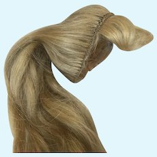 Early HH Poupee Fashion Doll Wig Blonde Extra Long