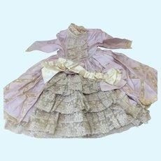 Wonderful Pink Silk Seamstress Made Dress